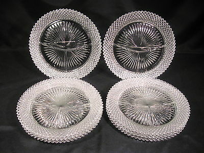 Anchor Hocking Miss America Grill Plates Set of 8