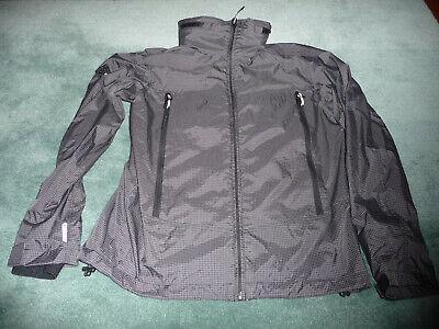 Superdry Altitude Wind Hiker Jacket Men L Black large - possibly irregular flaw