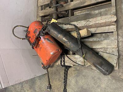 CM RR 2 Ton Chain Hoist 2HP 16 fpm