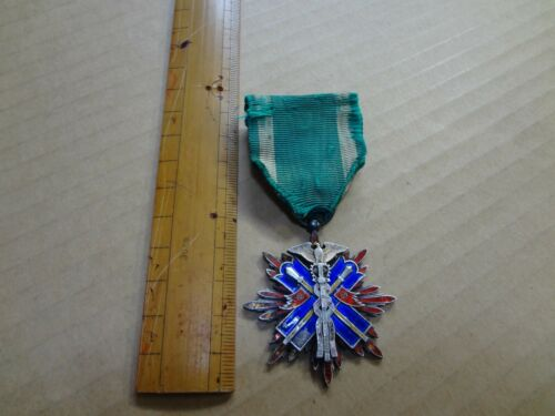 WW2 Japanese Order Of The Golden Kite 5th medal  Military JAPAN ARMY NAVY BADGE