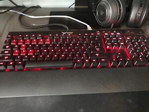 Corsair k70 cherry mix red like new