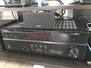 Yamaha RX-V479 5.1-channel 4k home theater receiver with Wi-Fi