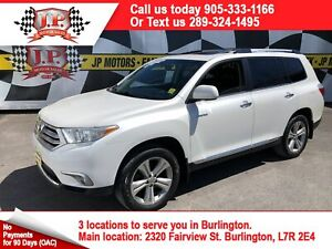 2013 Toyota Highlander Limited, Navi, Leather, Sunroof, 4x4