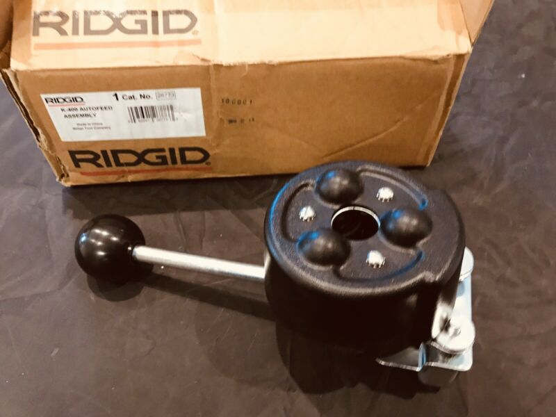 Ridgid 26773 Autofeed Assembly for K-400 Drain Cleaning Machine New other