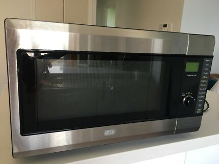 Lg 30l Stainless Steel Microwave Oven