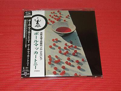 2017 PAUL MCCARTNEY Paul McCartney (1970) JAPAN MINI LP SHM CD