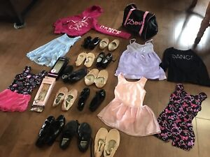 Lots like new kids Dance shoes & clothing