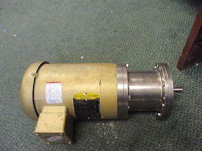 Baldor Motor Vem3546 1hp 1760rpm 208-230460v 3.1-31.5a Used