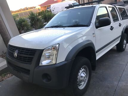 Year 2007 Holden rodeo just rebuild the motor drive like new