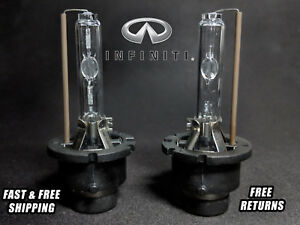 OE HID Headlight Bulb For Infiniti G35 2006-2008 Low & High Beam Stock Fit Qty 2