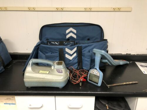 SPX Radiodetection RD7100 Cable & Pipe Locator w/ TX-10 Transmitter