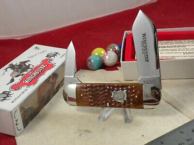 WINCHESTER 29110 BH SUNFISH / ELEPHANT TOE KNIFE MINT IN ORIGINAL BOX BUFFALO