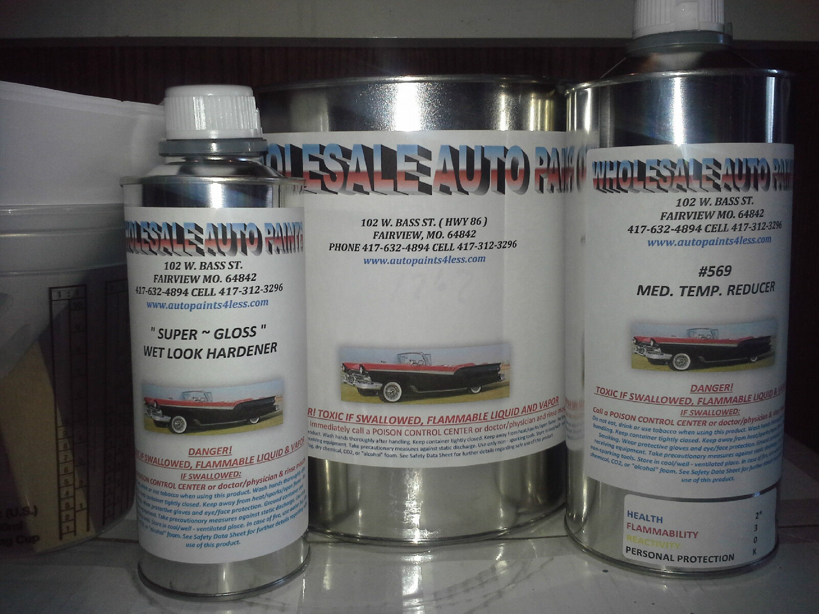 High Gloss Root Beer Pearl Gallon Kit Single Stage Acrylic