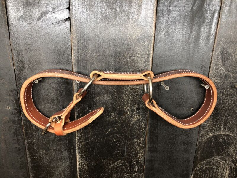 Heavy Duty Leather Horse Hobbles - Doubled Leather & Stitched
