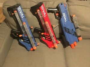Nerf Rival - 2 Zeus's and 1 Atlas