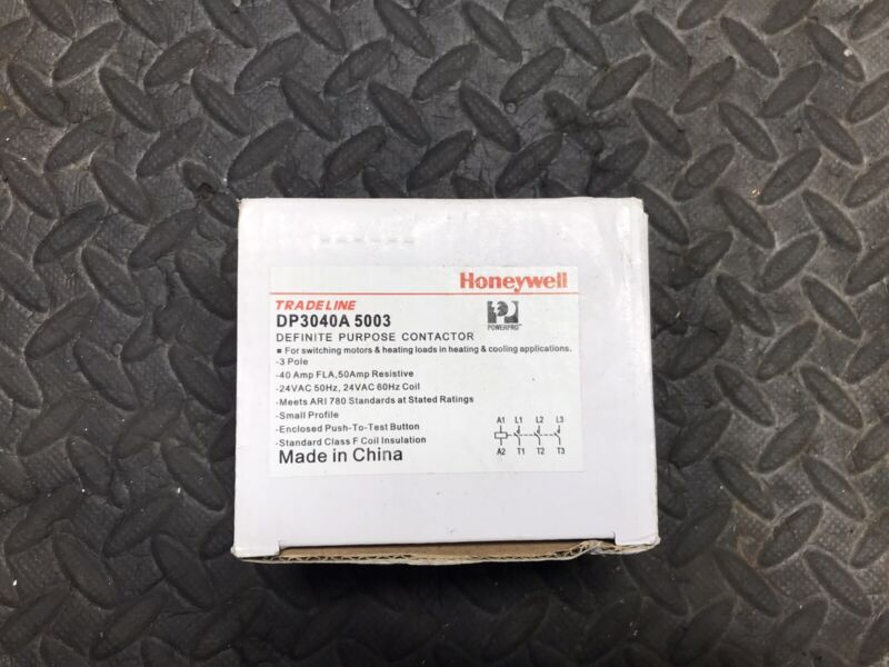 HONEYWELL DP3040A5003 DEFINITE PURPOSE CONTACTOR 0344