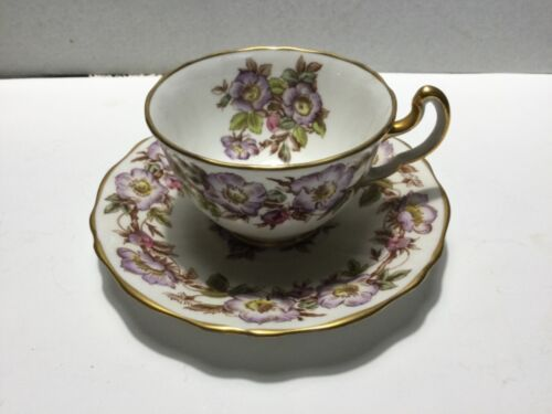 """BRIAR ROSE"" - by ADDERLEY - LAWLEY ENGLAND - CUP & SAUCER - 10 AVAILABLE -"