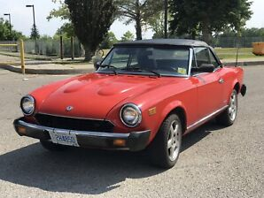 Beautiful Fiat 124 Spider