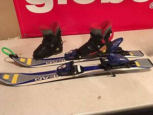 Kids skis and boots for sale