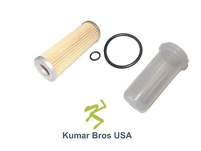 New Kubota Fuel Filter With O-ring Bowl B20 B21 B2100 B2150 B2400 B2710