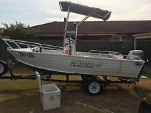 aluminium centre console boat with 50hp honda four Windsor Hawkesbury Area Preview