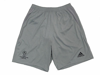 Adidas Schiedsrichter Hose Short Referee UCL grau Gr. L