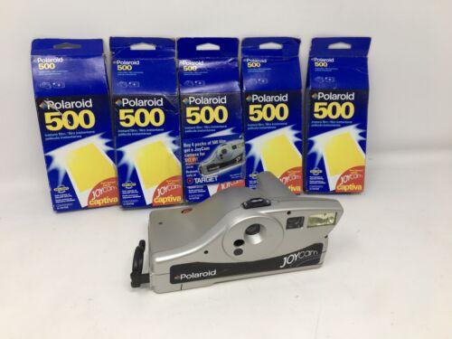 Polaroid 500 instant film 5 boxes EXPIRED 2001 + Polaroid Jo