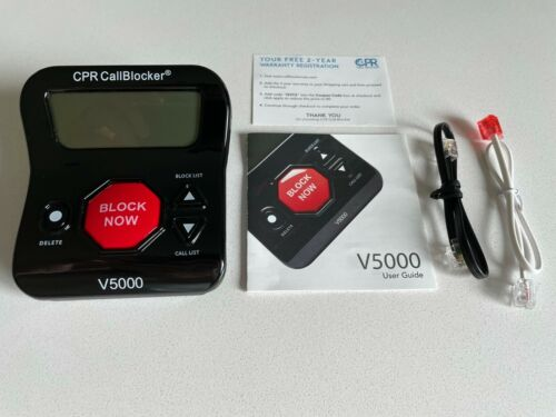 CPR Phone Call Blocker V5000 All in One Call Blocker All Robocalls Landline