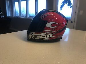ICON helmet for sale, 10 out of 10