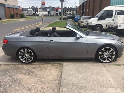 bmw 335i convertible with RWC