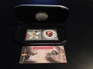 NHL All Stars Coin and stamp set