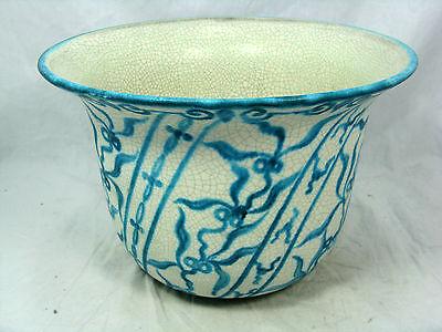 Schöner 50´s design RÜPPURR pottery Keramik Blumen Übertopf # flowerpot  25 cm