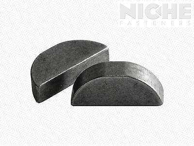 Woodruff Machine Key 3/16 x 2-1/8 Alloy Steel (15 Pieces)
