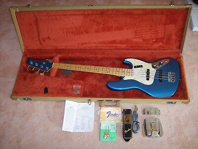 Fender Custom Shop Jazz Bass Very Early Production, January 1988