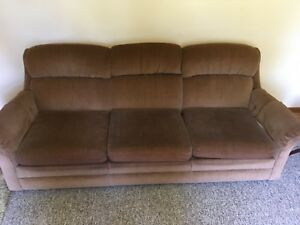 Couch, Loveseat, Coffee Table, Shelves, Cabinet
