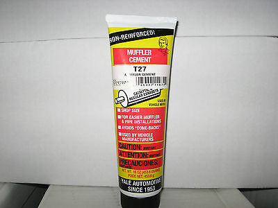 2 Tubes Yale Automotive Muffler Cement 16 oz EACH