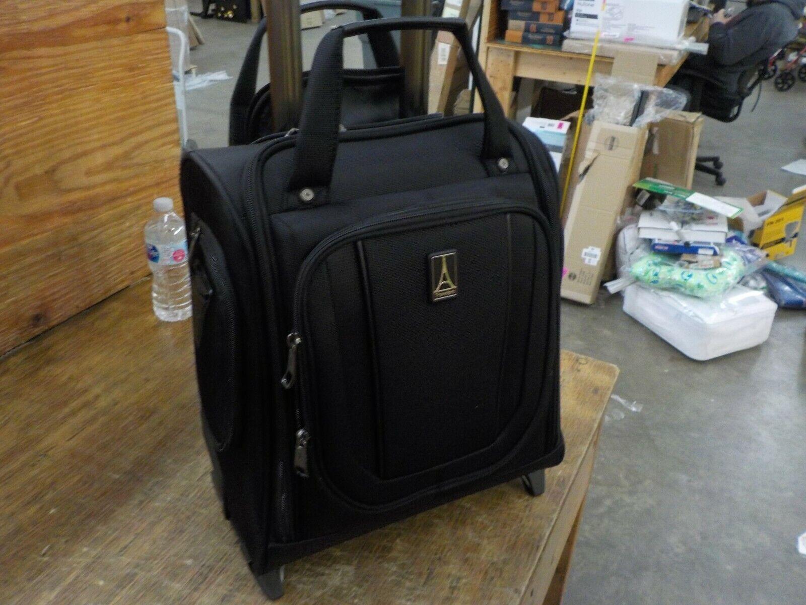 Travelpro Crew Versapack-Rolling Underseat Carry-on Bag, Jet