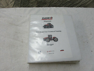 2011 Steiger Tractor Technical Training Dealer Shop Manual 5186