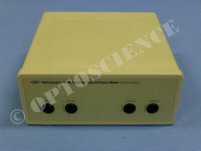 Newport 4832-c Optical Power Meter 4-channel Amplifier Box
