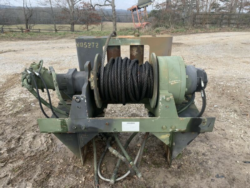 DP 60k Recovery Drum Hydraulic Winch