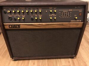 Ampli guitar acoustic crate 125