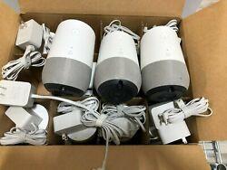 Lot of 12 Google Home - Smart Speaker with Google Assistant - White Slate