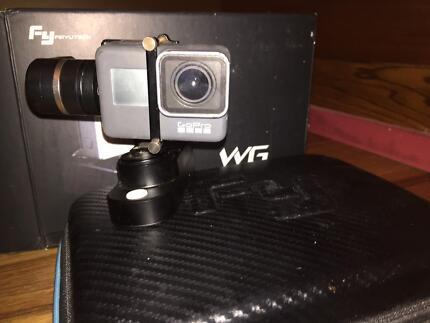 GoPro 5 - 3 axis Gimbal, Feiyu Tech WG