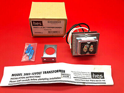 Hes 2002-12 Ac Transformer 12 Volt 240vac 20va 4x745 Hes 200212 New