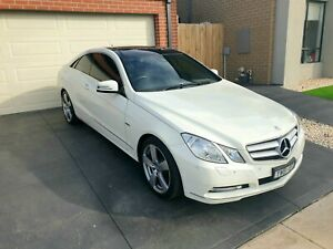 Mercedes E class turbo coupe 2012 swaps for Vl holden or hsv