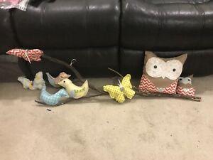 Owl wall deceration