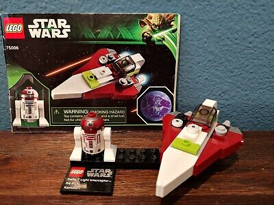 LEGO Star Wars Jedi A-Wing Starfigher & Kamino (75006) and Minifigure