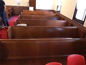 15 x Church pews SALE Concord Canada Bay Area Preview