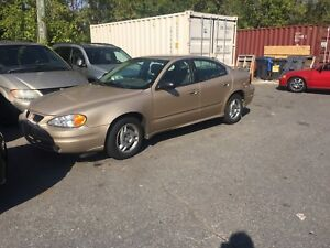 2004 Pontiac grand am  *only 67000km*