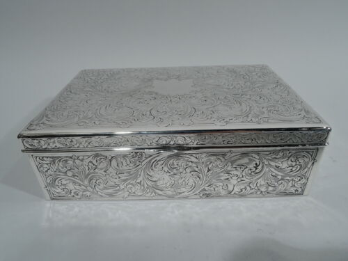 Reed & Barton Box - 110 - Antique Art Nouveau - American Sterling Silver